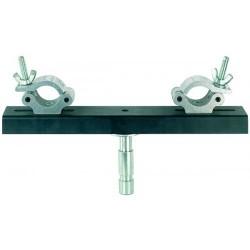 Staffa zincata regolabile per truss Proel